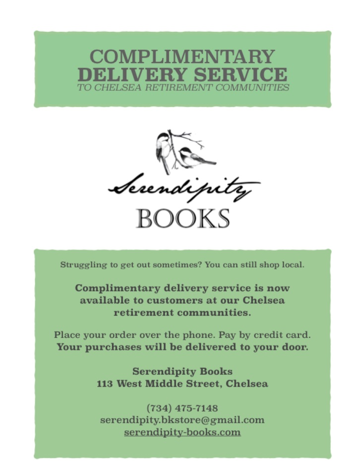 complimentary delivery services