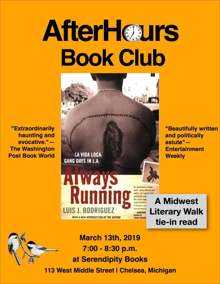 Afterhours Bookclub 3_19